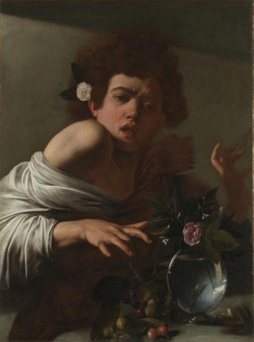 Boy Bitten By Lizard (1594)