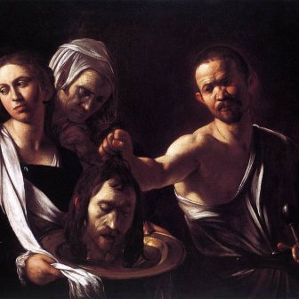 Salome With the Head of John the Baptist (1607)