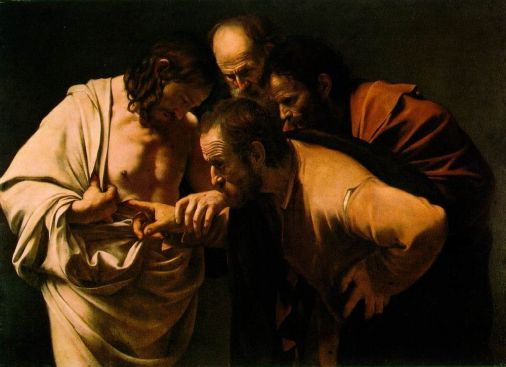 The Incredulity of Saint Thomas (1602)