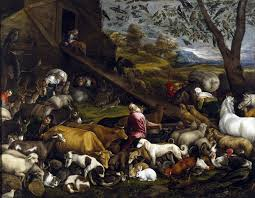 The Animals Entering Noah's Ark by Jacopo Bassano, 1574