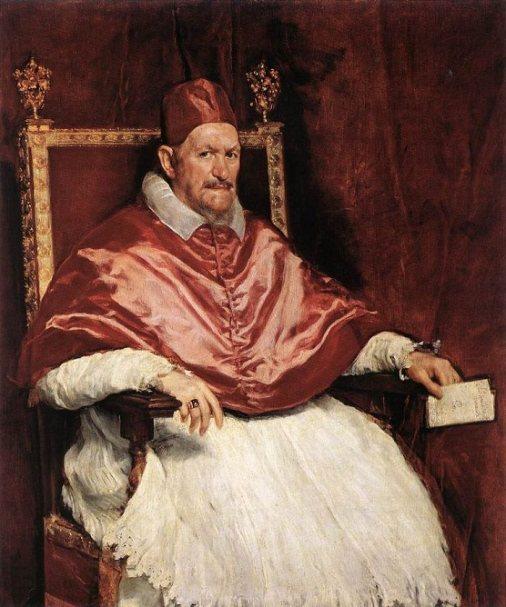Pope Innocent X by Velazquez, circa 1650