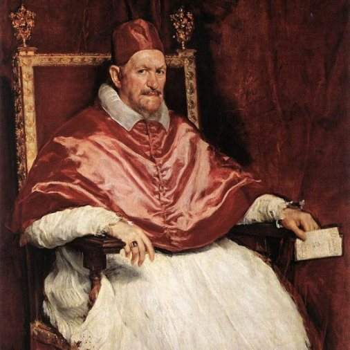 Pope Innocent X by Velazquez, circa 1650