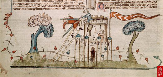 woman-defending-castle
