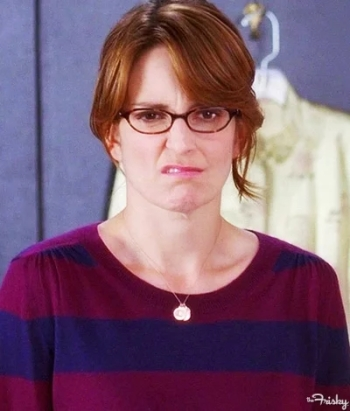 Annoyed Liz Lemon