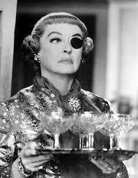 Frowning Bette Davis