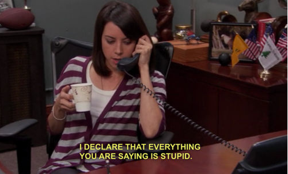 April Ludgate Phone