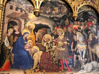 The Adoration of the Magi by Gentile da Frabriano