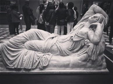 The Sleeping Ariadne (of Middlemarch fame!) no longer housed at the Vatican