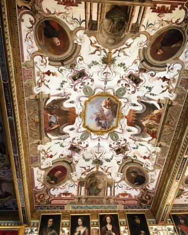 Uffizi ceiling