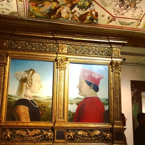 Portraits of the Duke and Duchess of Urbino by Piero della Francesca