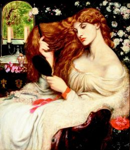 Lady Lilith by Rossetti, 1868