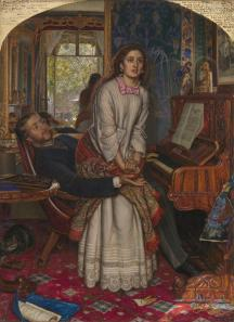 The Awakening Conscience by William Holman Hunt, 1853.