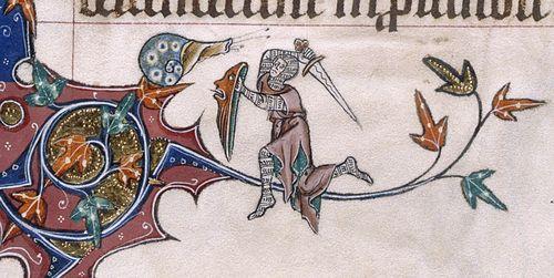 Knight v Snail 1