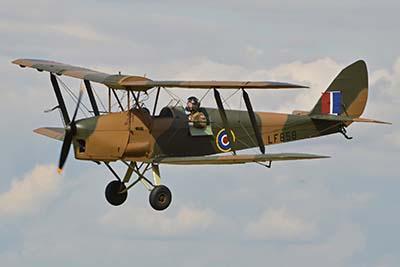 Tiger Moth Plane